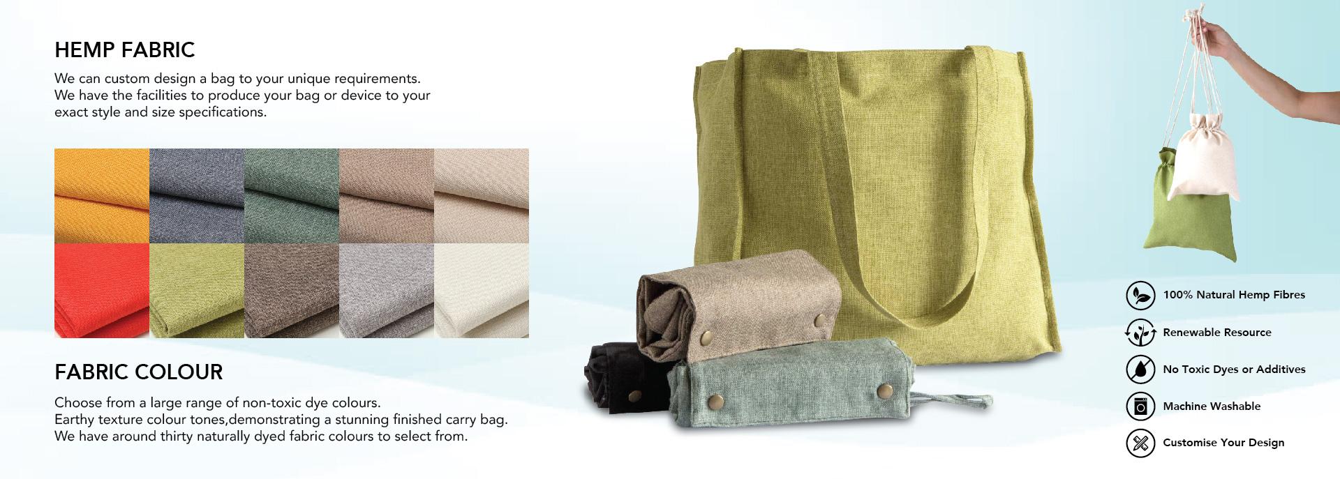 Hemp Material Bag