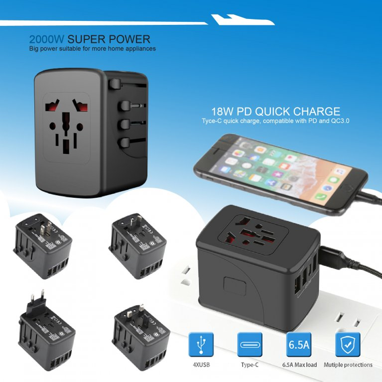 SL200 Travel Adapter