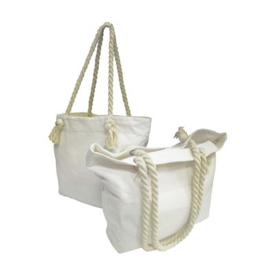 CANVAS TOTE BAG WITH ROPE HANDLE PB392