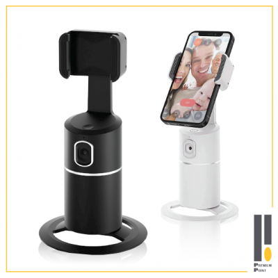 Webcam with 360 degree Auto Tracking Phone Holder_PE-T2