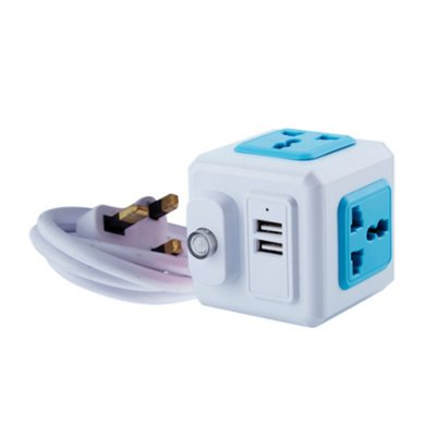 CUBE-IT POWER ADAPTER WITH 2 USB_PE24